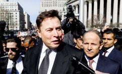 Elon Musk, en una comparecencia judicial.