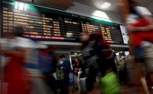 Las turísticas del IBEX ignoran la afluencia de junio.