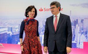 UBS sitúa a Banco Santander como su entidad preferida de España y recomienda entrar en el valor pues estiman un potencial de hasta el 30 por ciento a un precio objetivo de 4 euros
