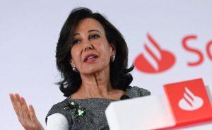 Ana Botín, presidenta de Santander