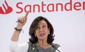 La presidenta del Banco de Santander, Ana Botín