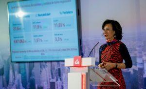 IBEX 35: Banco Santander pagará un único dividendo y Botín ganará un 50% menos   Autor del artículo: Finanzas.com