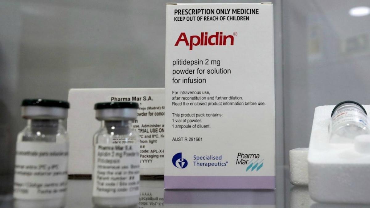 Pharmamar estima que tendrá los resultados de la fase III del Aplidin para agosto y descubre nuevos países donde realizará los ensayos