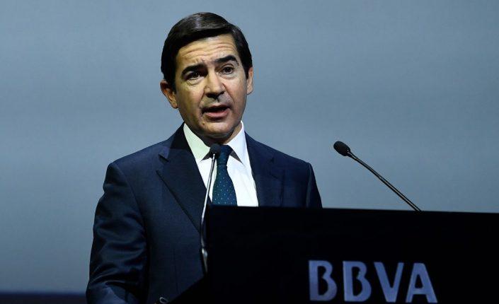 BBVA lidera las subidas de la banca del IBEX