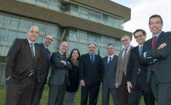 Comité de dirección de Cellnex Telecom. En el centro de la imagen Tobías Martínez, consejero delegado. CELLNEX