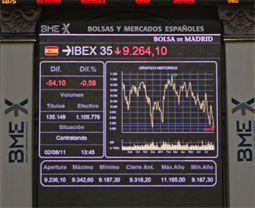 Los bancos españoles dejan atrás la pandemia en bolsa.