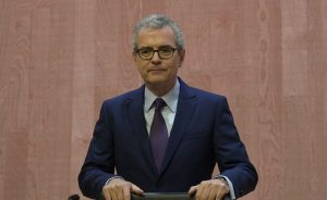 El presidente de Inditex, Pablo Isla.