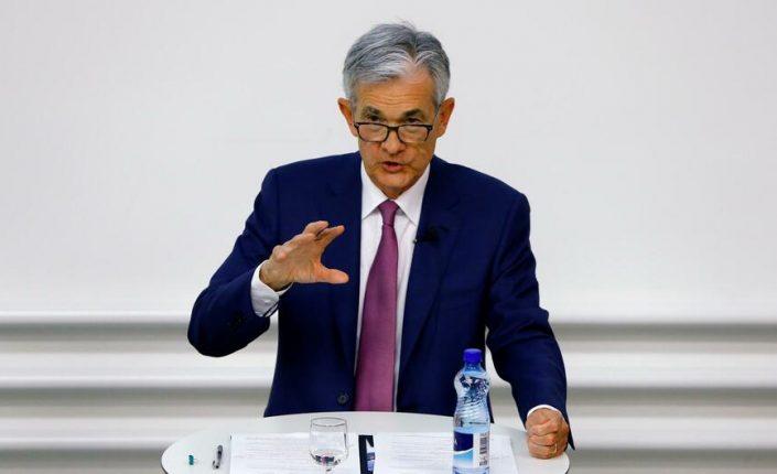 El presidente de la Fed, Jerome Powell.