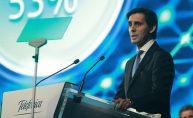 Telefónica celebra la junta de accionistas en un momento dulce de cotización, pero sin olvidar la reducción de deuda y con su presidente, José María Álvarez-Pallete, en el foco por su reelección
