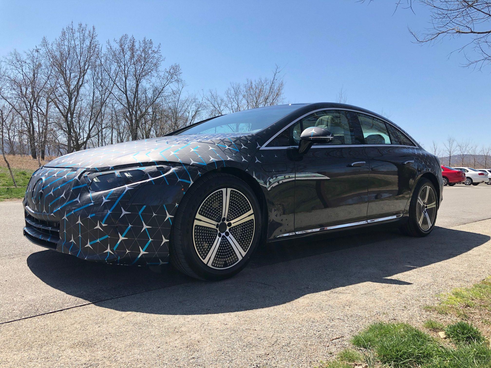 El EQS competirá con lo mejor de Tesla