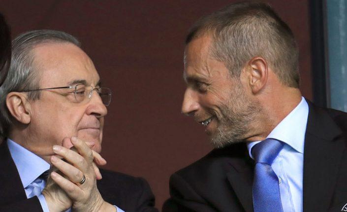 Mercados: Superliga. La UEFA pide 6.000 millones para abortar la sublevación | Autor del artículo: José Jiménez