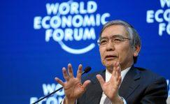El gobernador del Banco de Japón, Haruhiko Kuroda, cargó contra el bitcoin