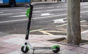 Scooter eléctrico de Bird.