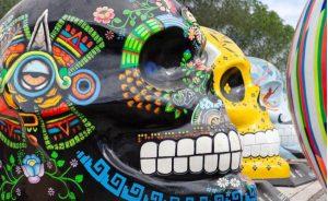 Exposición internacional de 'Mexicráneos'